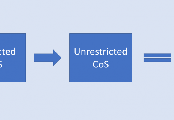The change from Restricted CoS to Unrestricted CoS – What does it mean?